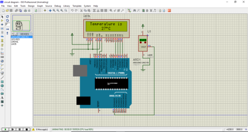 arduino proteus isis 7 professional simulator software