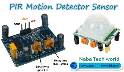 pir motion detector sensor pinout
