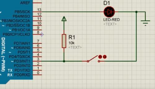 arduino digital input signal