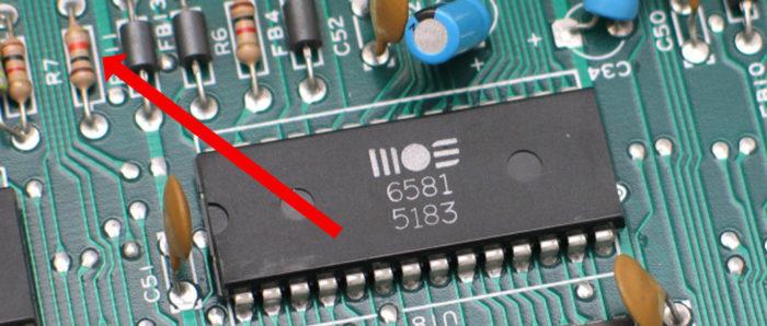 Resistor in a circuit